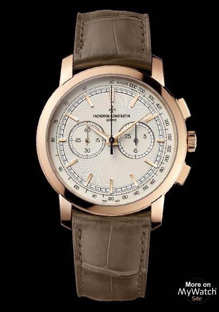 """Vacheron Constantin Patrimony Traditionnelle """"Paris Boutique"""" chronograph watch replica"""