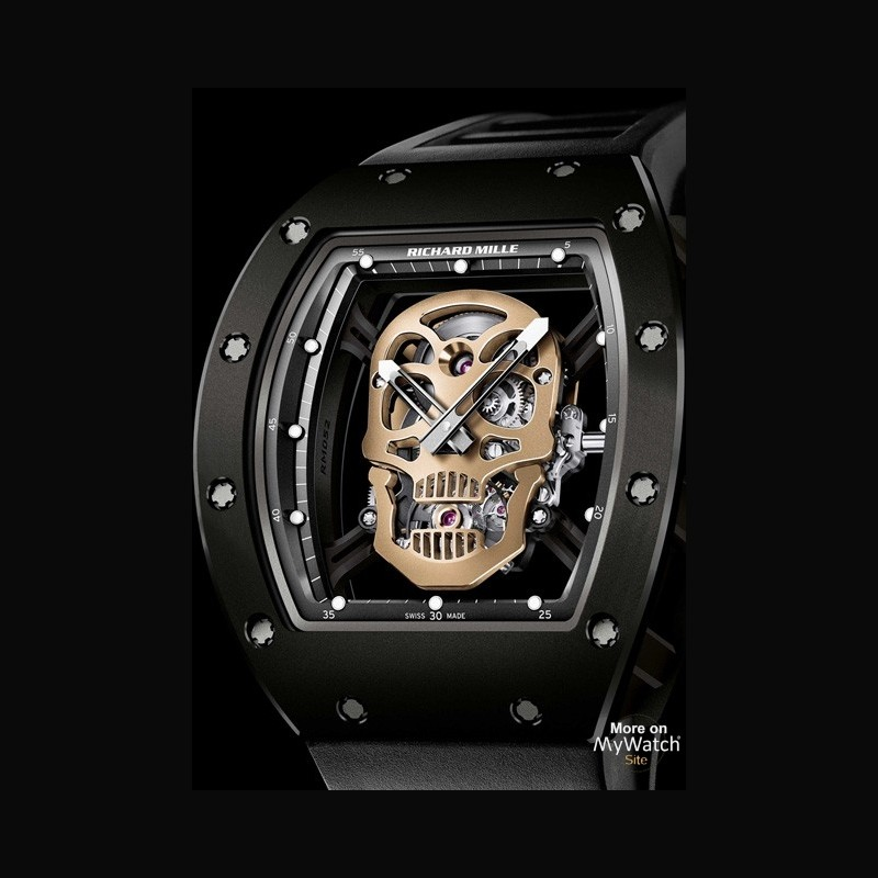 richard mille white titanium