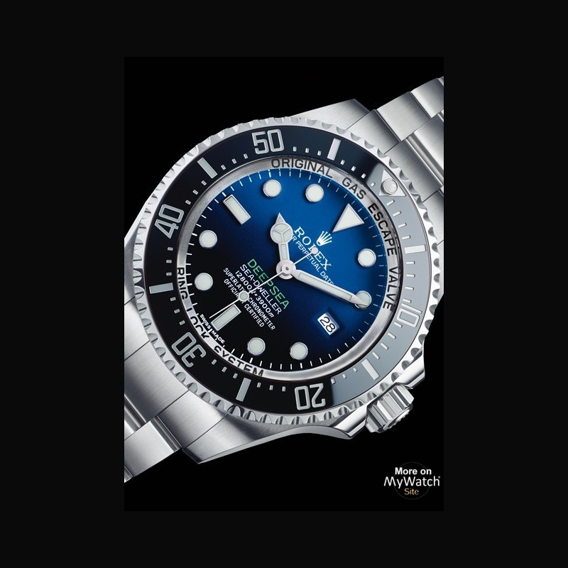 Rolex Deepsea D Blue Dial The Oyster Perpetual