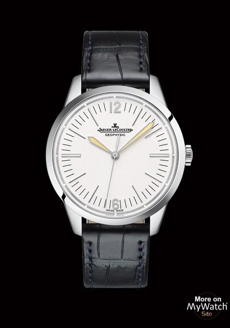 Watch jaeger lecoultre geophysic 1958 geophysic 1958 q800652j platinum aliigator strap for Geophysic watches