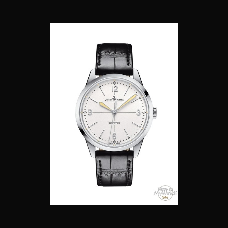 Watch jaeger lecoultre geophysic 1958 geophysic 1958 q8008520 steel aligator bracelet for Geophysic watches
