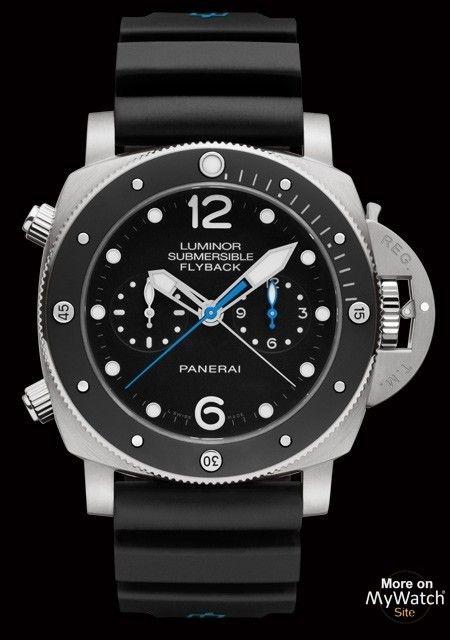 Watch Luminor Submersible 1950 3 Days Chrono Flyback