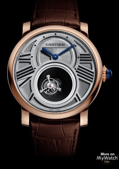 Rotonde de Cartier Double Tourbillon Mystérieux