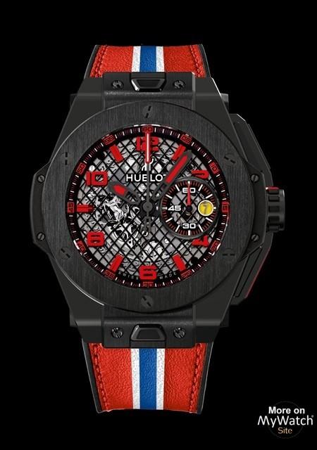 Watch Hublot Big Bang Ferrari Black Ceramic Big Bang 401