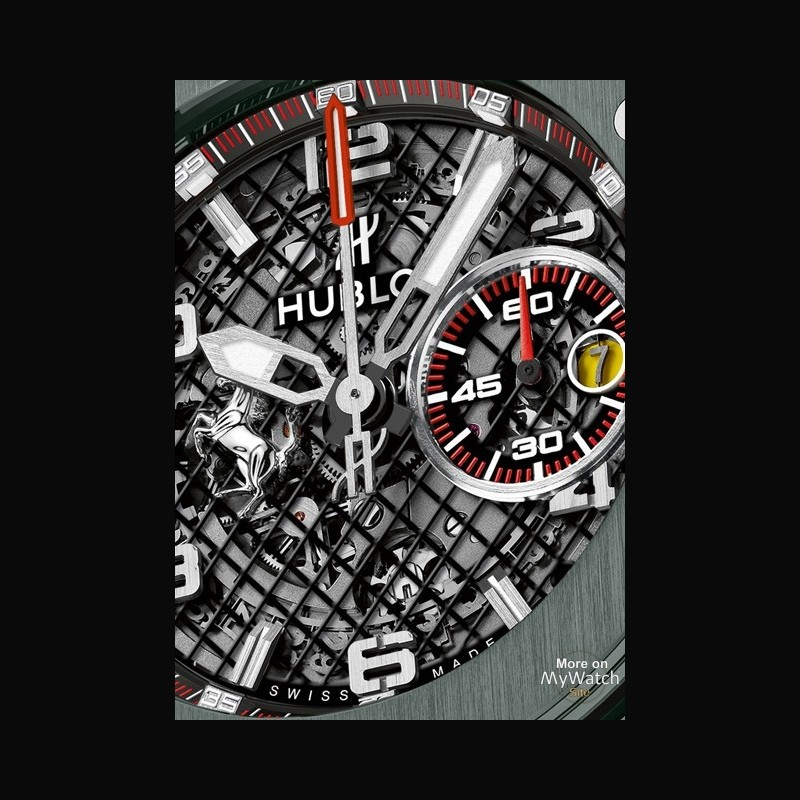 Watch Hublot Big Bang Ferrari Grey Ceramic Big Bang 401