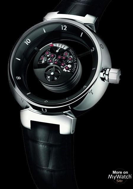 Watch Louis Vuitton Tambour Mystérieuse