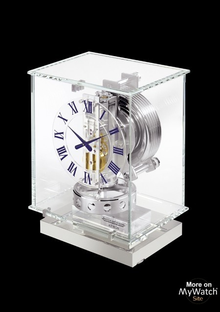 watch jaeger lecoultre atmos classique transparente atmos q5135201 table clock glass. Black Bedroom Furniture Sets. Home Design Ideas