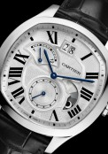 Drive de Cartier large date, retrograde second time zone and day/night indicator