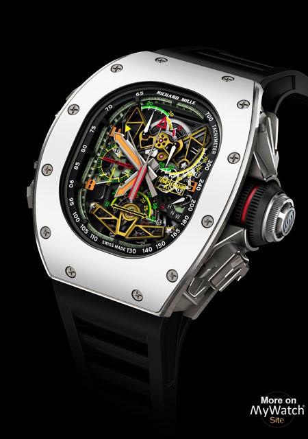 RM 50-02 ACJ Tourbillon Split Seconds Chronograph