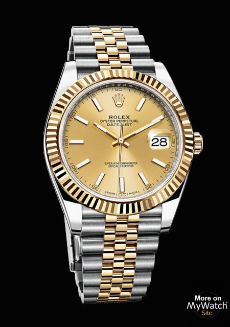 Watch Rolex Datejust 41 Oyster Perpetual 126301 72611