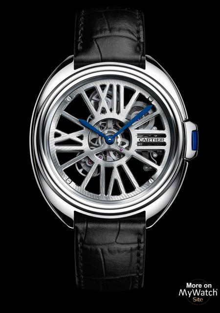 Clé de Cartier Automatic Skeleton