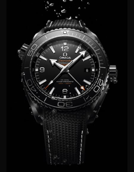 Seamaster Planet Ocean 600M Master Chronometer GMT Deep Black