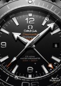 Seamaster Planet Ocean 600M Master Chronometer GMT Deep Black