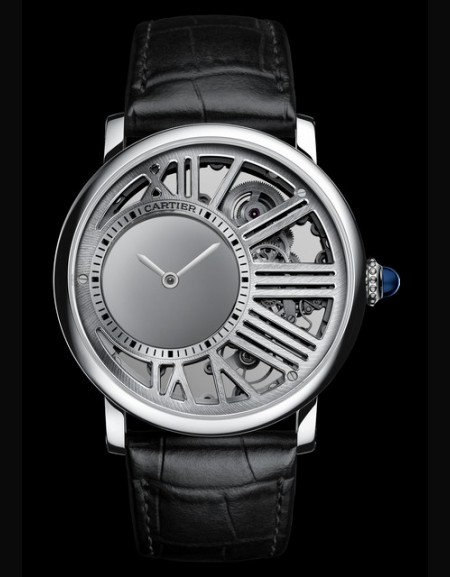 ROTONDE DE CARTIER Skeleton Mysterious Hour