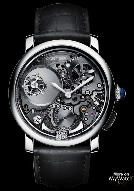 ROTONDE DE CARTIER Minute Repeater Mysterious Double Tourbillon