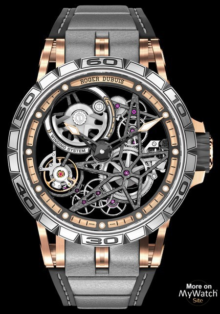 4c96f6719ec Watch roger dubuis excalibur spider automatic skeleton excalibur jpg  450x640 Excalibur skeletonised watch