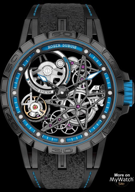 Watch Roger Dubuis Excalibur Spider Pirelli Automatic