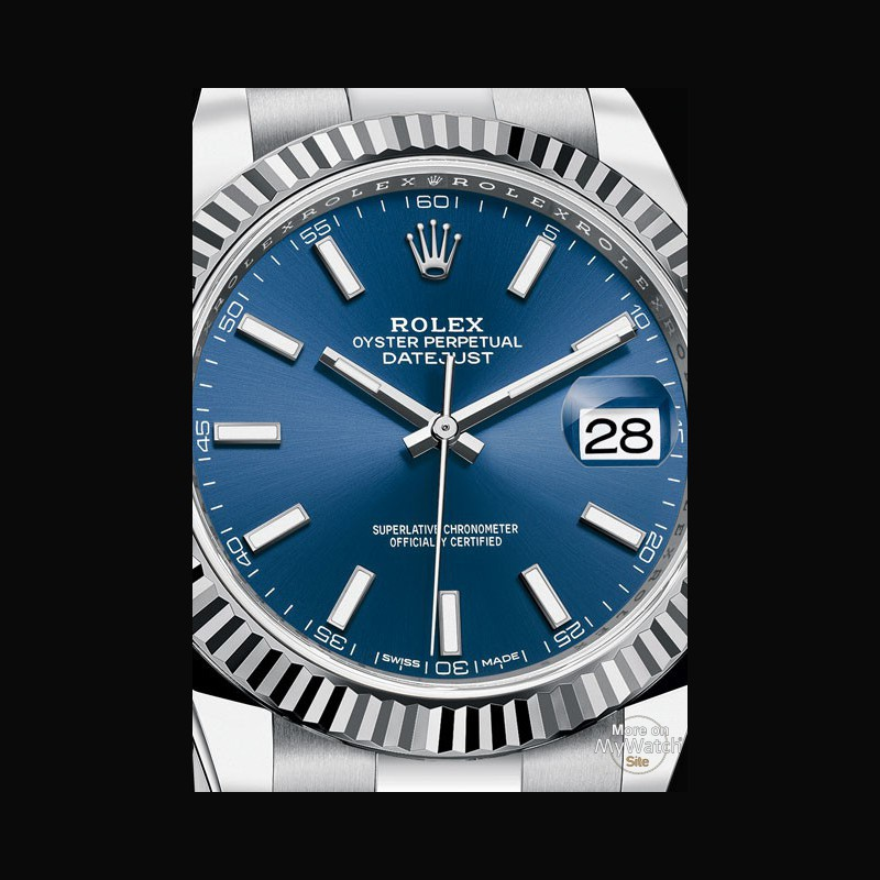 watch rolex datejust 41 oyster perpetual 126334 white rolesor steel rh my watchsite com manuel rolex oyster perpetual datejust rolex oyster perpetual date manual