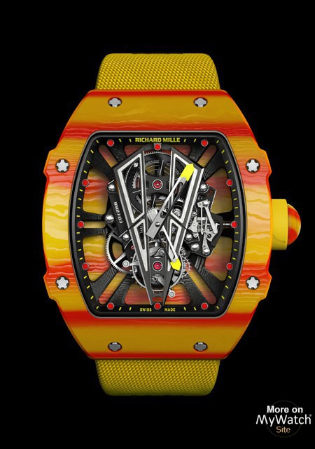 Watch Richard Mille Rm 27 03 Tourbillon Rafael Nadal Rm 27 Quartz Tpt Comfort Elastical Strap