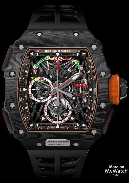 Watch Richard Mille Rm 50 03 Mclaren F1 Rm 50 Carbon