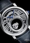 Rotonde de Cartier Double Tourbillon Mystérieux squelette