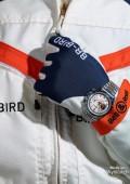 Racing bird acier