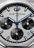 Laureato Chronographe - Acier sur acier cadran argenté