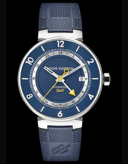Tambour Moon Blue  GMT
