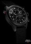 Pilot's Watch Double Chronograph TOP GUN Ceratanium