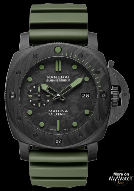 Watch Panerai Submersible Marina Militare Carbotech Special