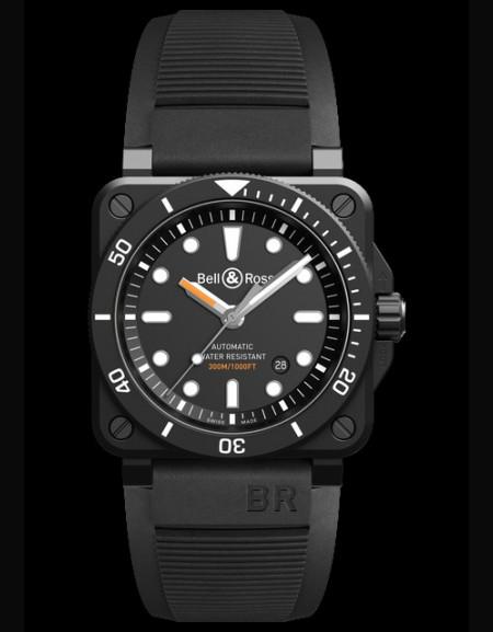 BR03-92 Diver Black Matte