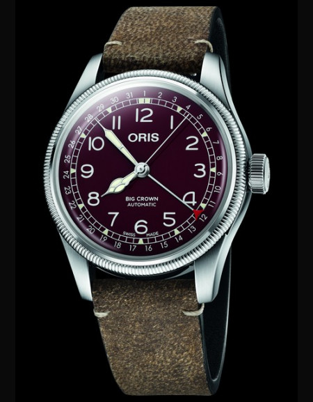 Oris Big Crown Pointer Date - red version
