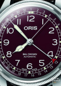 Oris Big Crown Pointer Date - red version