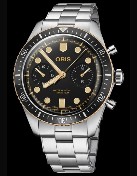 Oris Divers Sixty-Five Chronograph
