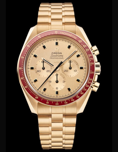 Omega Speedmaster Apollo 11 50th Anniversary Or Moonshine Limited Edition