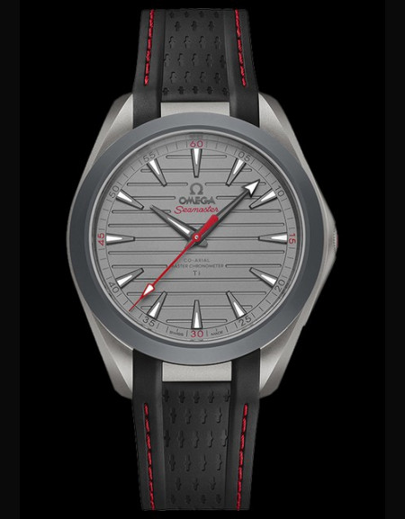 Omega Seamaster Aqua Terra Ultra Light Red Version