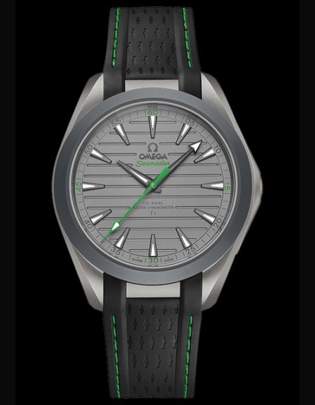 Omega Seamaster Aqua Terra Ultra Light Green Version