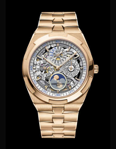 Overseas Perpetual Calendar Ultra-Thin Skeleton
