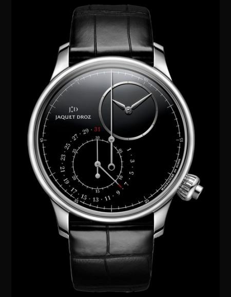 Grande Seconde Off-Centred Chronograph Black Onyx