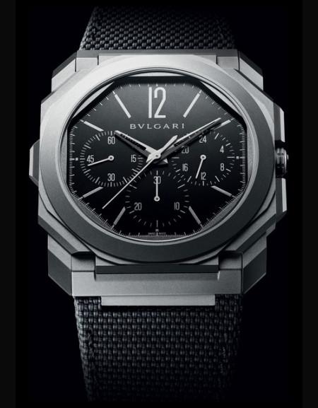 Octo Finissimo Chronograph GMT Titanium