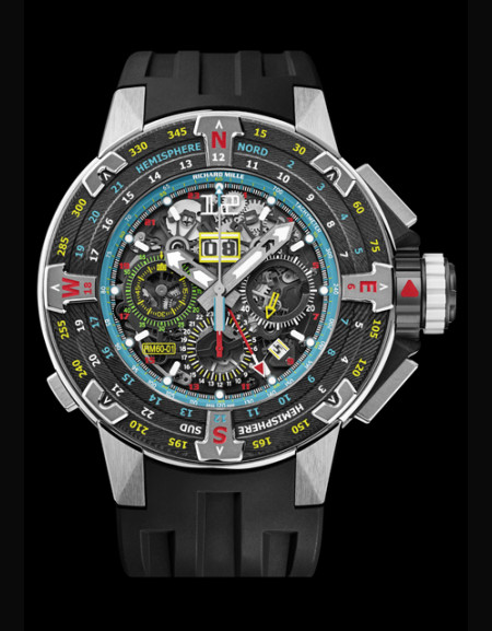 RM 60-01 Automatic Flyback Chronograph Les Voiles de St Barth,