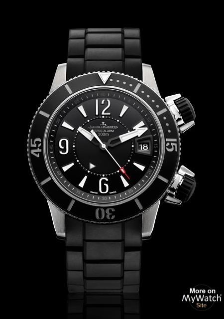 Watch Jaeger-LeCoultre Master Compressor Diving Alarm Navy SEALs | Master  Compressor Q183T770 Titanium - Caoutchouc Strap