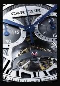 Rotonde de Cartier tourbillon chronographe monopoussoir