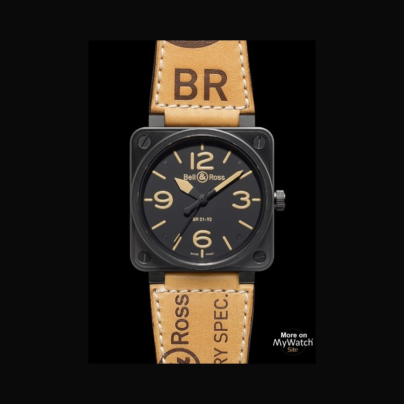 Watch Bell & Ross BR 01-92 Heritage