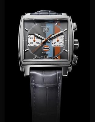 MONACO Calibre 12 Chronographe Gulf Limited Edition