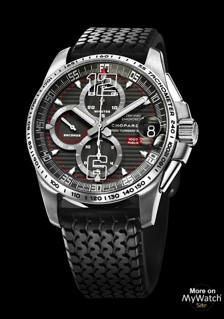 watch chopard mille miglia gt xl chrono titanium mille. Black Bedroom Furniture Sets. Home Design Ideas