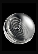 Pendulette Boule 8 jours Spiral