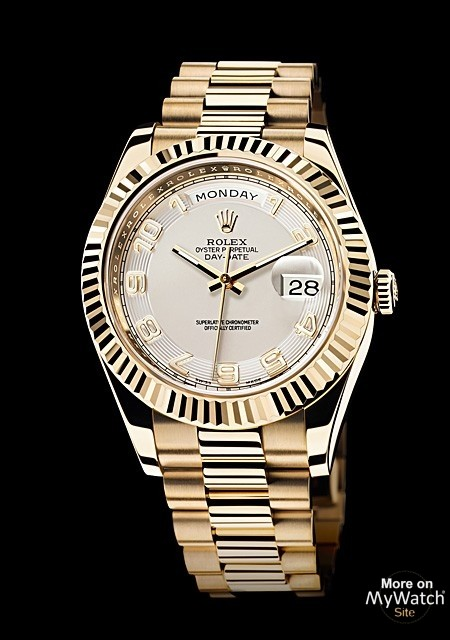 Watch Rolex Day Date Ii Oyster Perpetual 218238 83218 Yellow Gold
