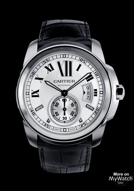 Hublot Watch Price >> Watch Cartier Calibre de Cartier   Calibre de Cartier W7100037 Steel - White Dial