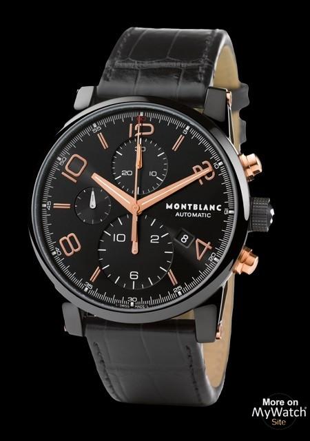46434cd7ea6cf Watch Montblanc TimeWalker Chronographe Dual Carbon ...